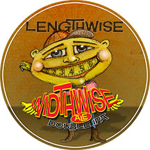 Widthwise-tap-handle